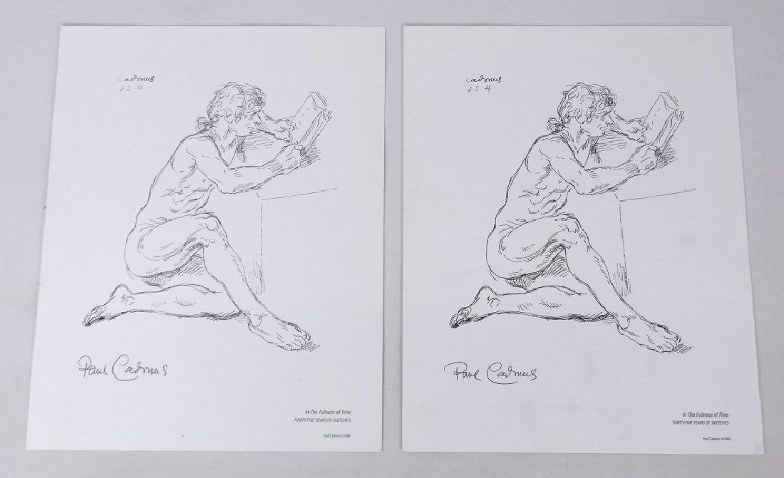 Paul Cadmus Signed Prints
