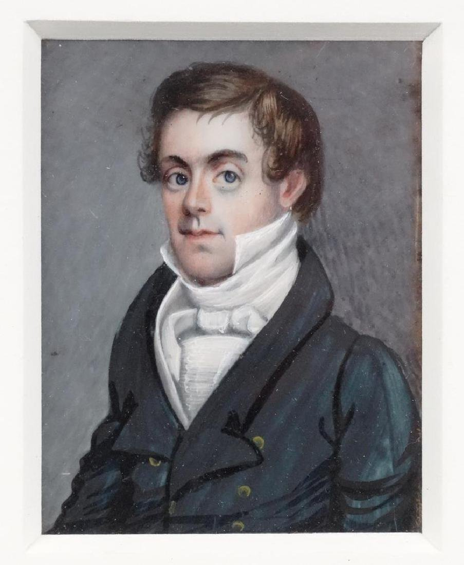 American School, Pair Of Portrait Miniatures - 4