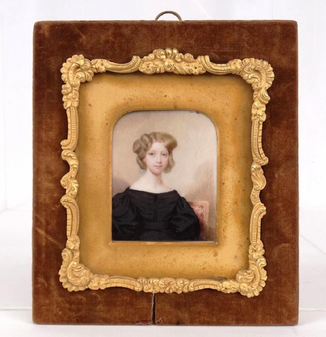 American School, Portrait Of Marian Curtis