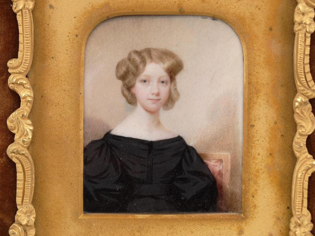 American School, Portrait Of Marian Curtis - 2