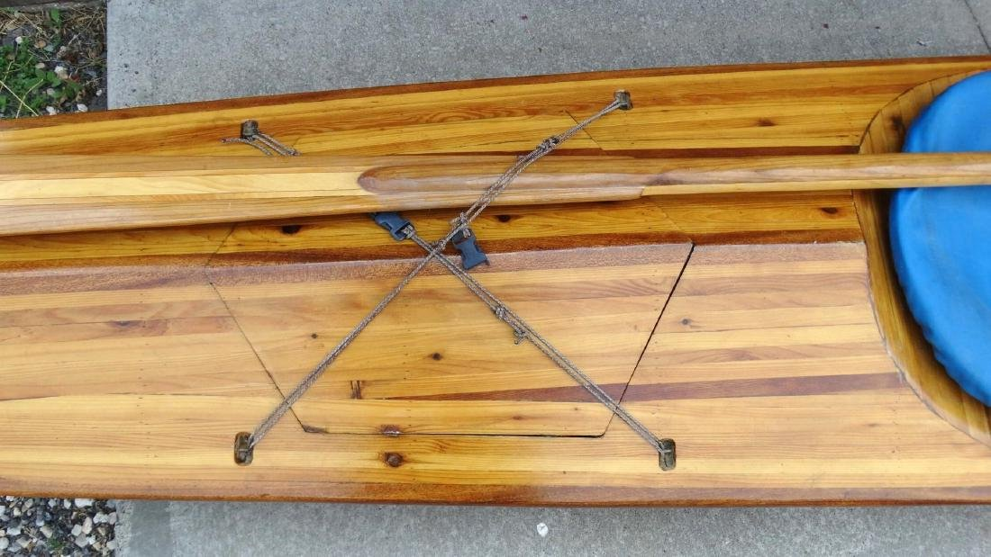 Handmade Aleutian Kayak - 3