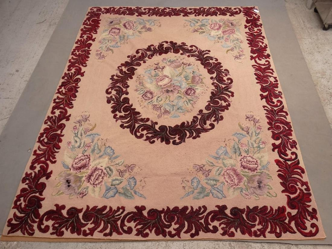 Roomsize Hooked Rug