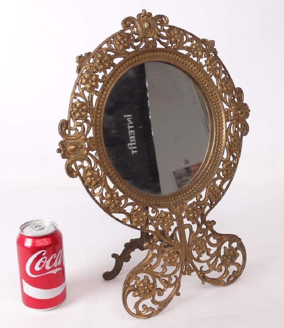 Brass Decorative Mirror