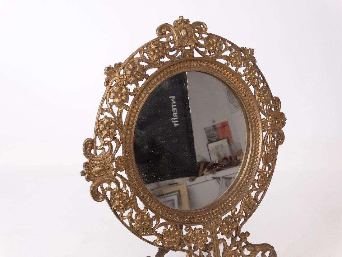 Brass Decorative Mirror - 2