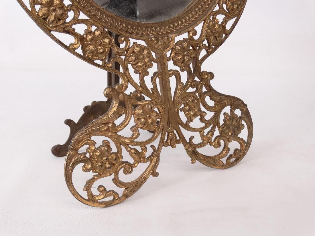 Brass Decorative Mirror - 3