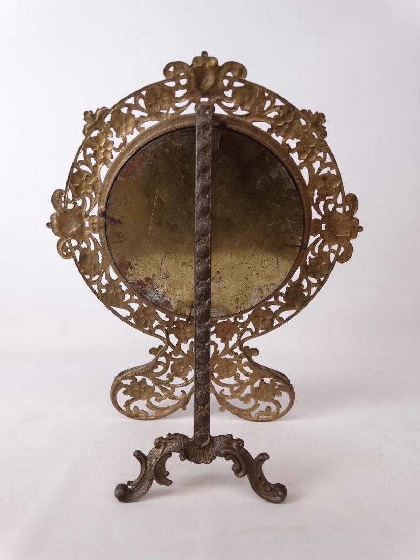 Brass Decorative Mirror - 4