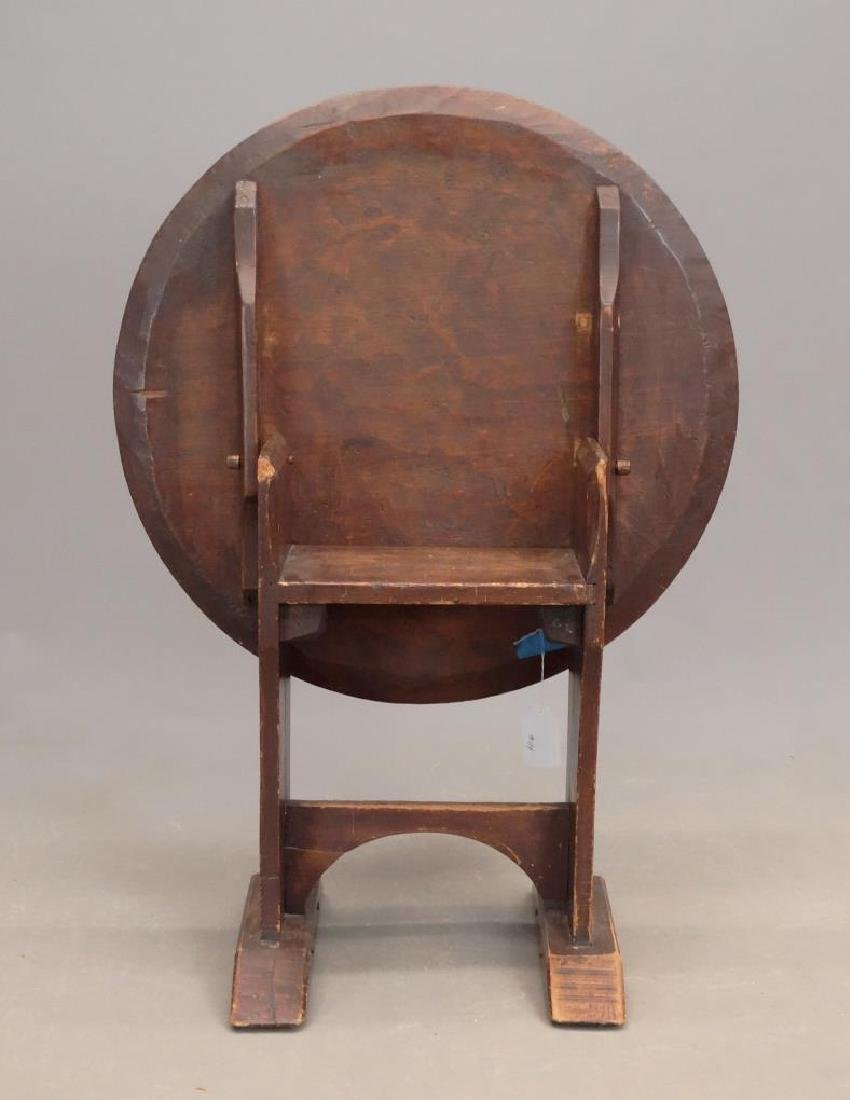 18th c. Child's Chair Table