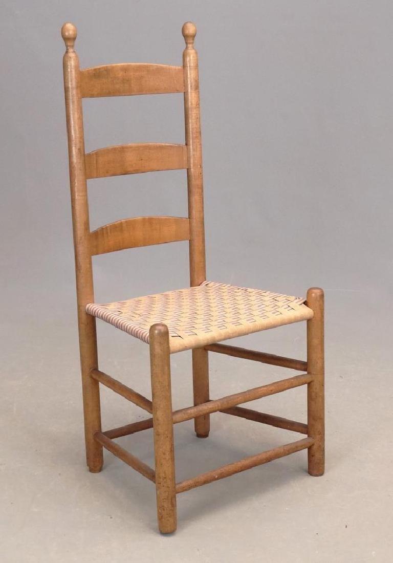 19th c. New Lebanon Shaker Side Chair
