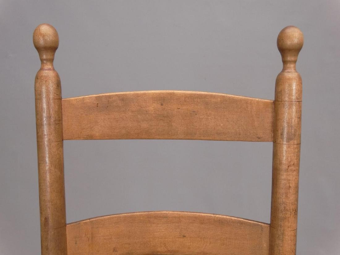 19th c. New Lebanon Shaker Side Chair - 2