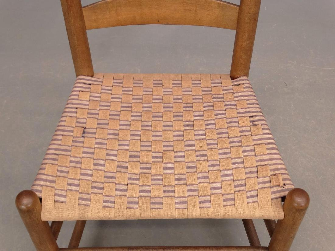 19th c. New Lebanon Shaker Side Chair - 3