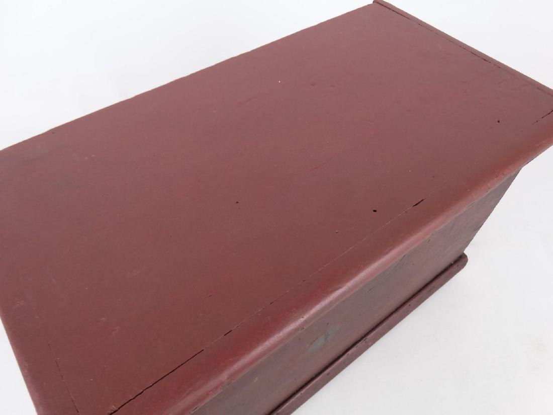 19th c. Miniature Blanket Box - 2