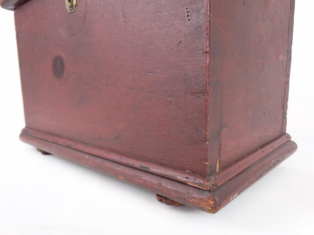19th c. Miniature Blanket Box - 4