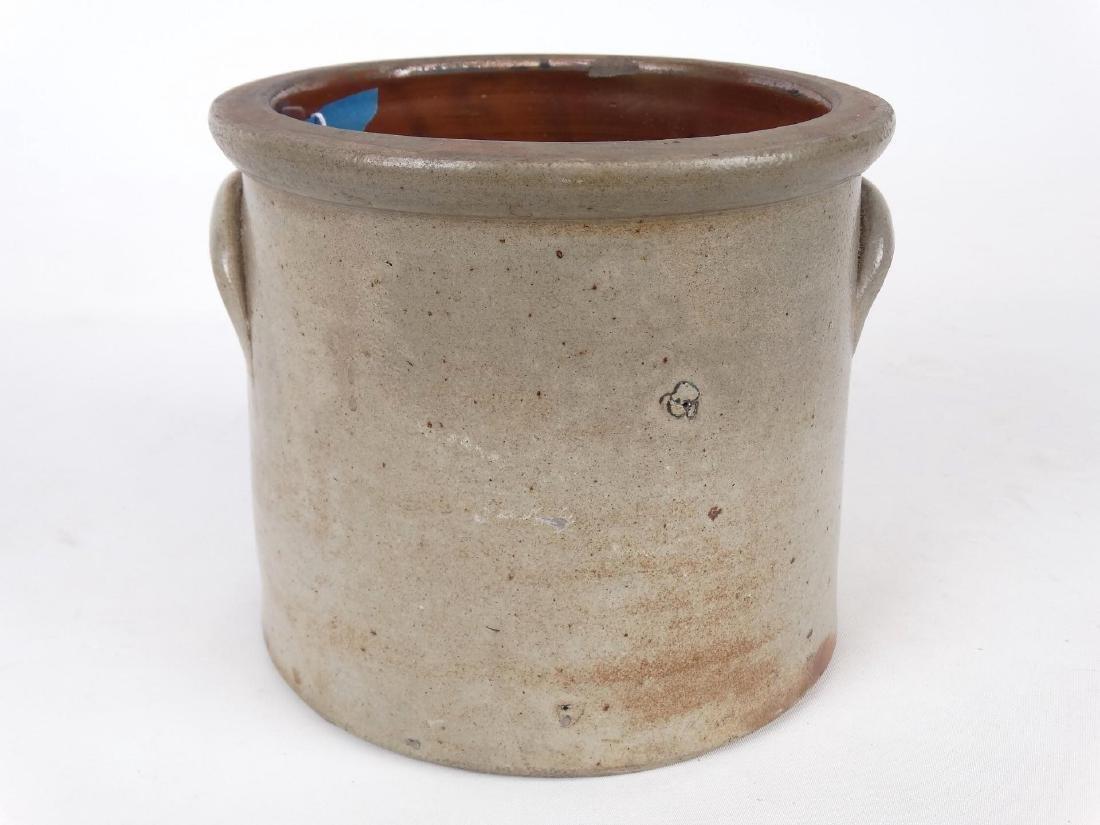 19th c. Stoneware Crock - 4