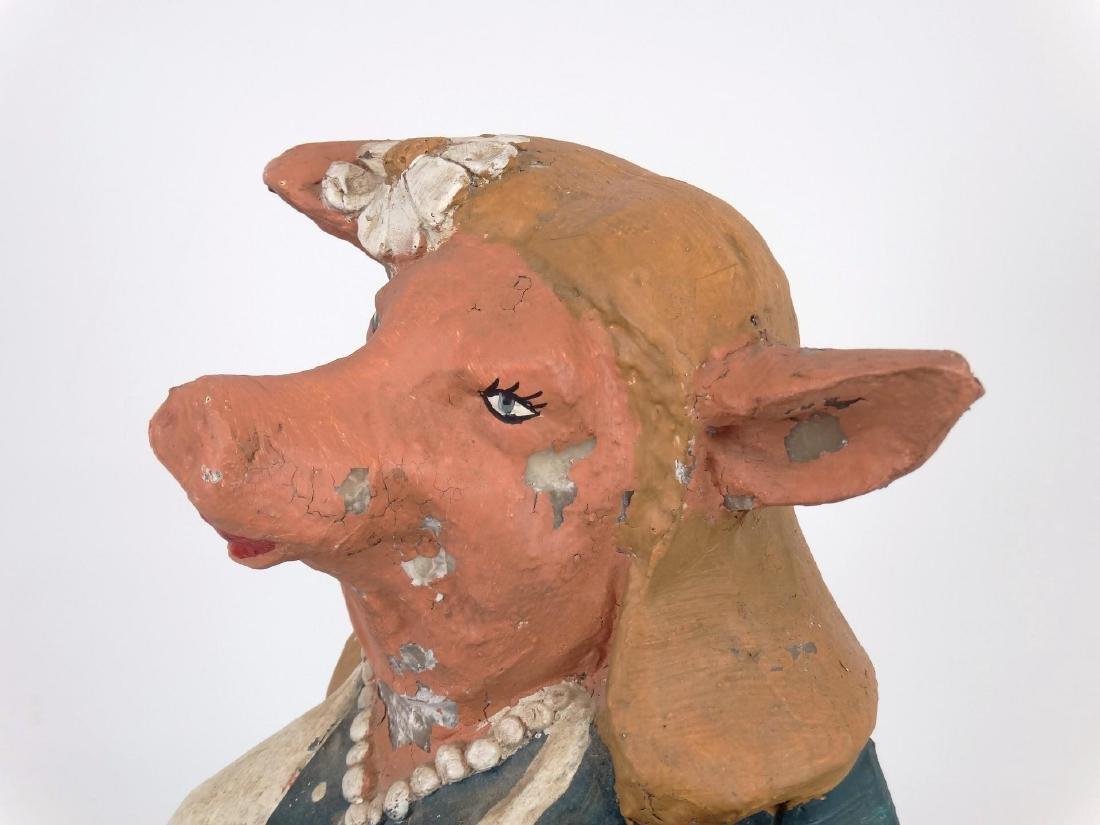 Pig Counter Top Restaurant Figure - 4