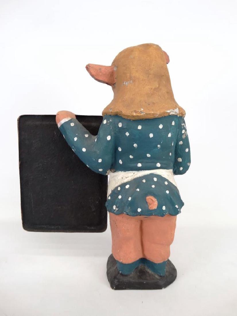 Pig Counter Top Restaurant Figure - 5