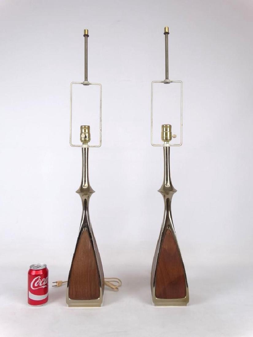Pair Of 1960's Laurel Lamps