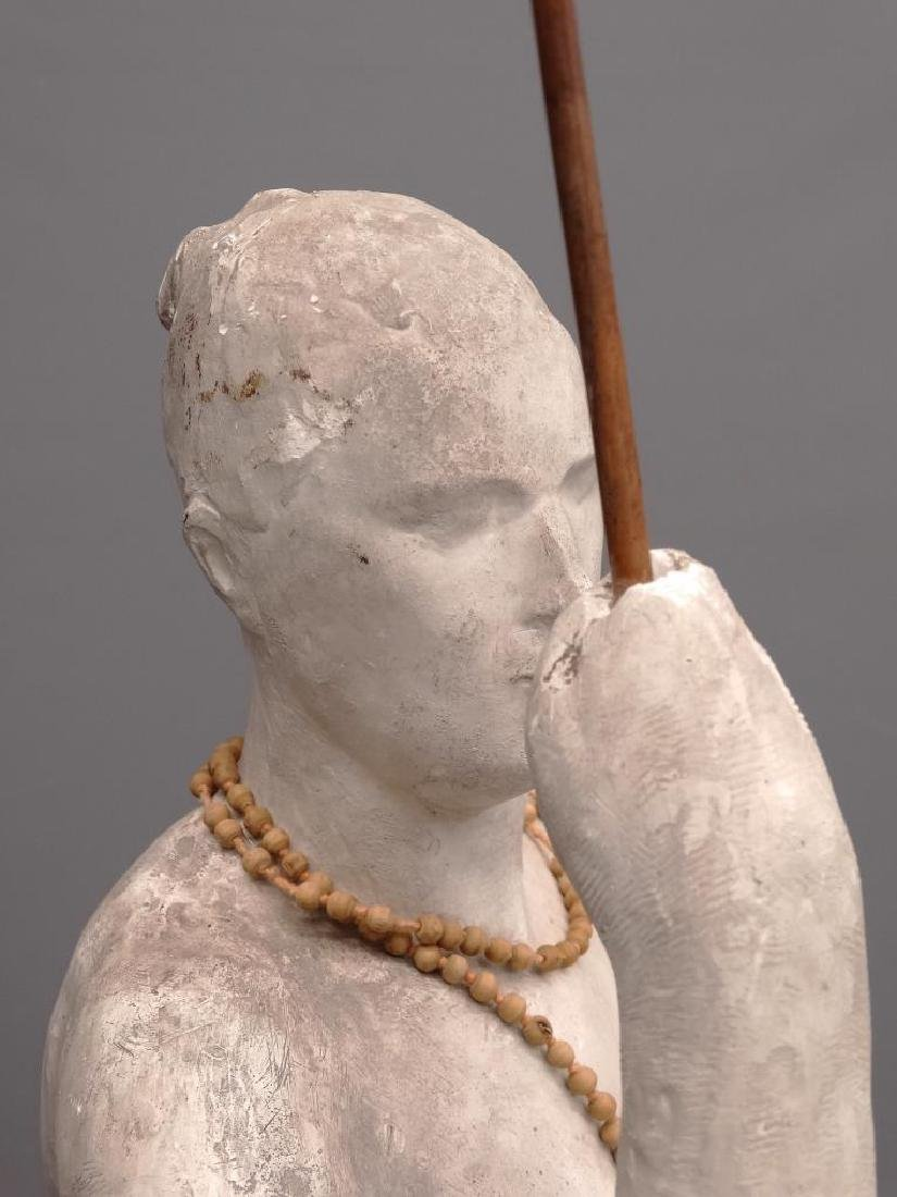 Plaster Statue Of A Woman - 3