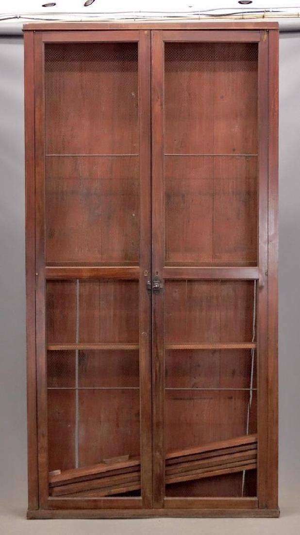 French Two Door Bookcase