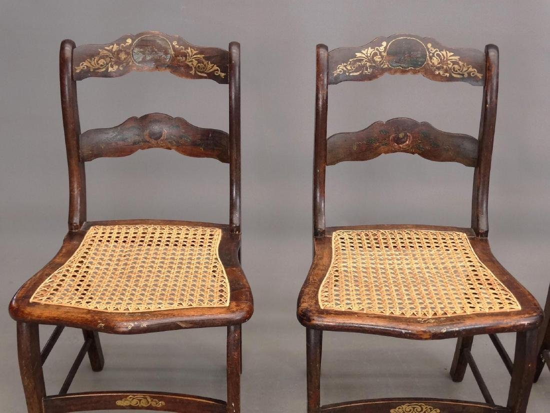 Set Of (4) 19th c. Chairs - 3