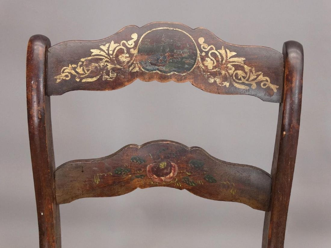 Set Of (4) 19th c. Chairs - 4