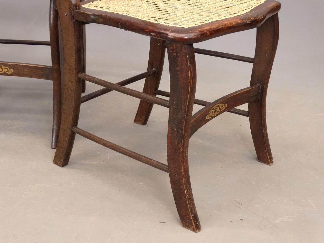 Set Of (4) 19th c. Chairs - 5