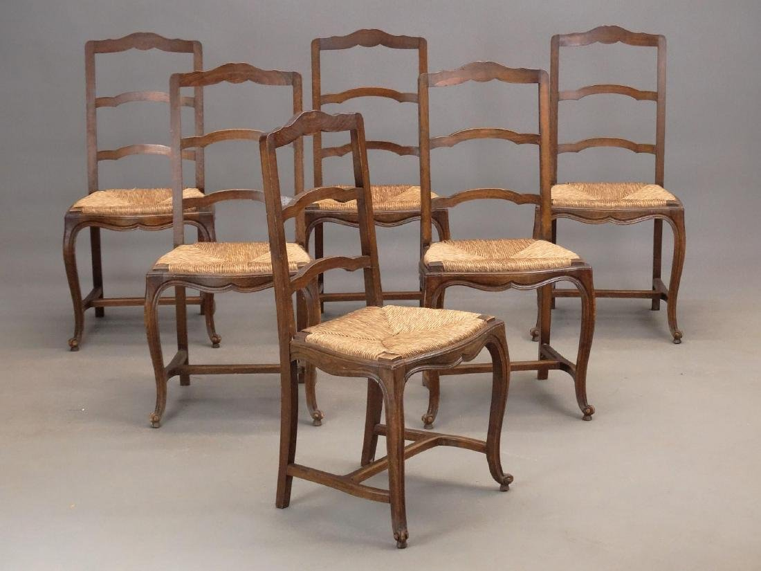 Set of (6) French Chairs