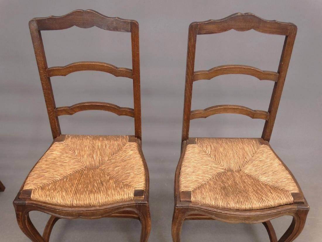 Set of (6) French Chairs - 2