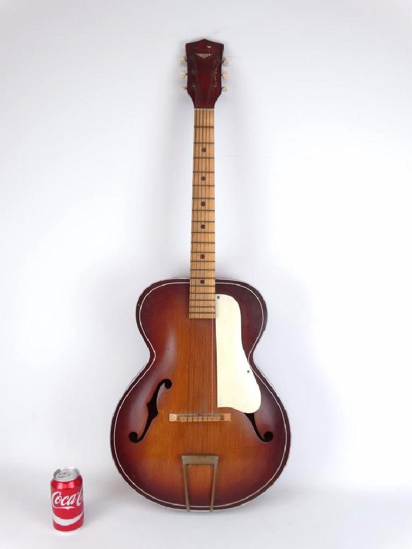 Vintage Kay Archtop Acoustic Guitar