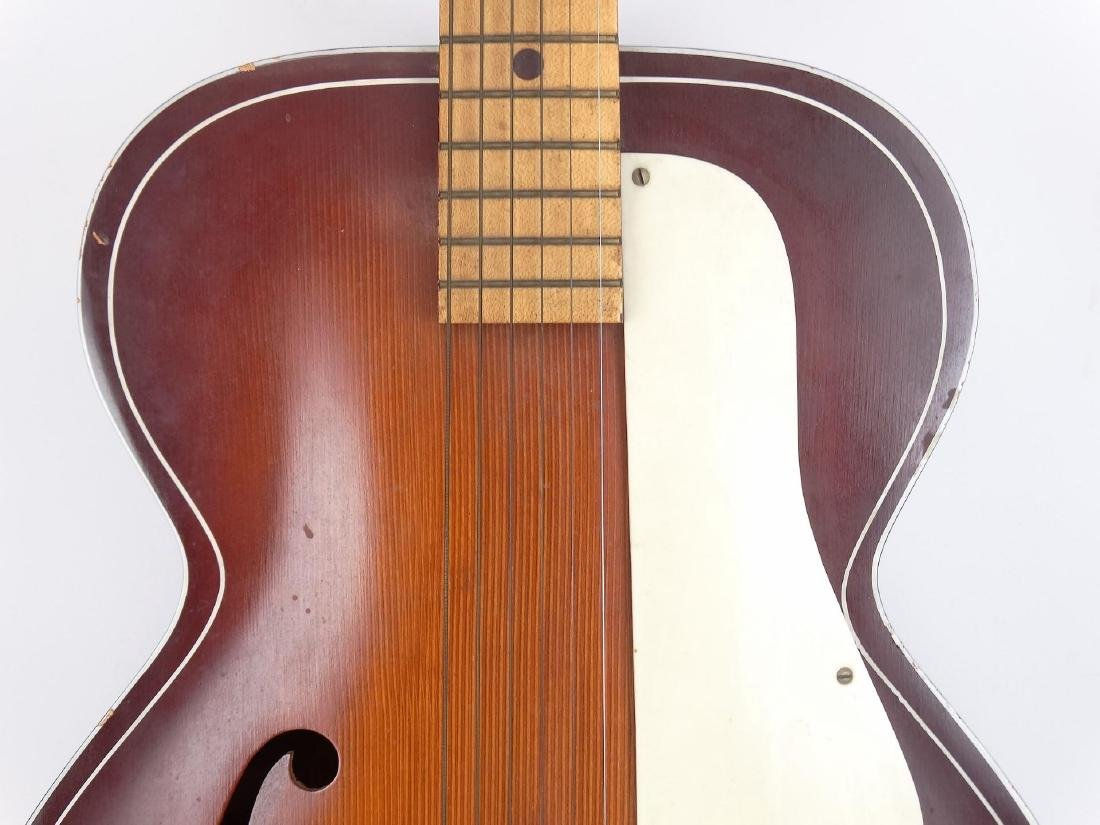 Vintage Kay Archtop Acoustic Guitar - 3