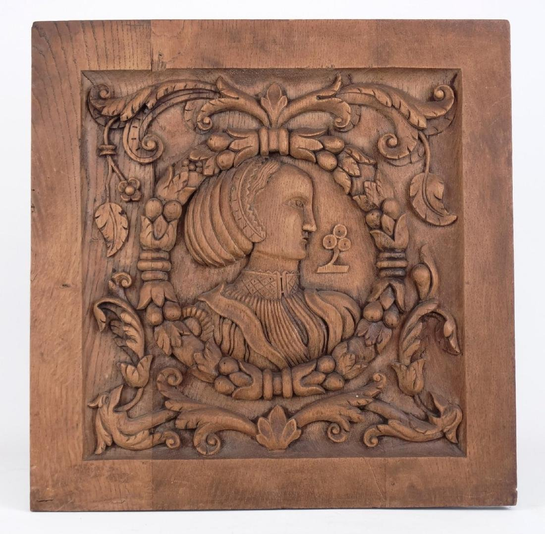 19th c. Continental Wood Carving