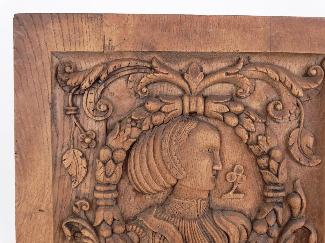 19th c. Continental Wood Carving - 2