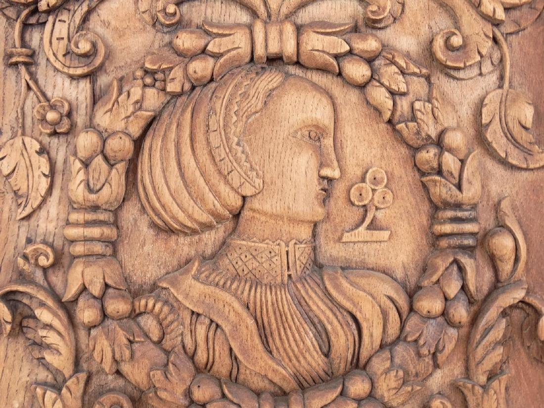 19th c. Continental Wood Carving - 3