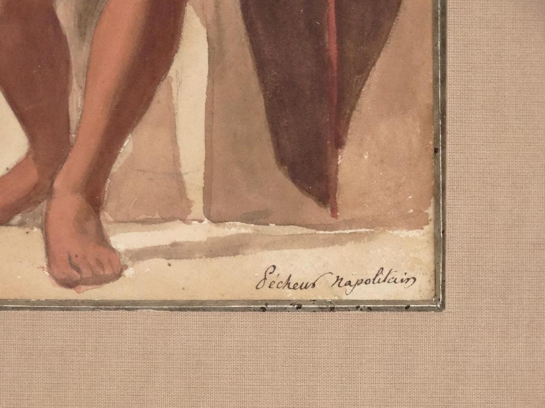Italian School, Two Watercolors - 5