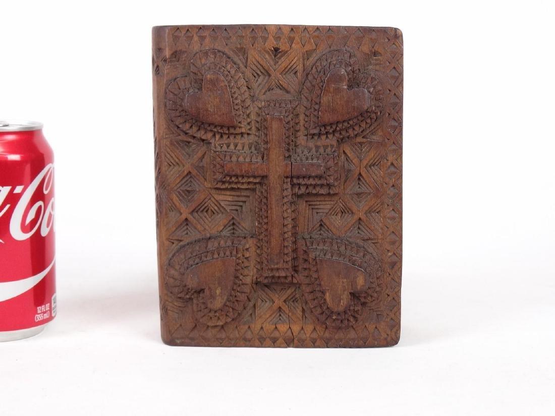 Tramp Art Book Box