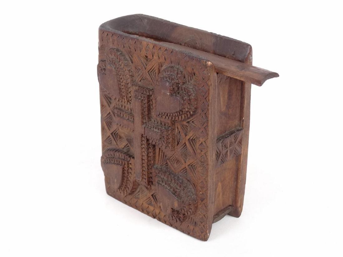 Tramp Art Book Box - 2