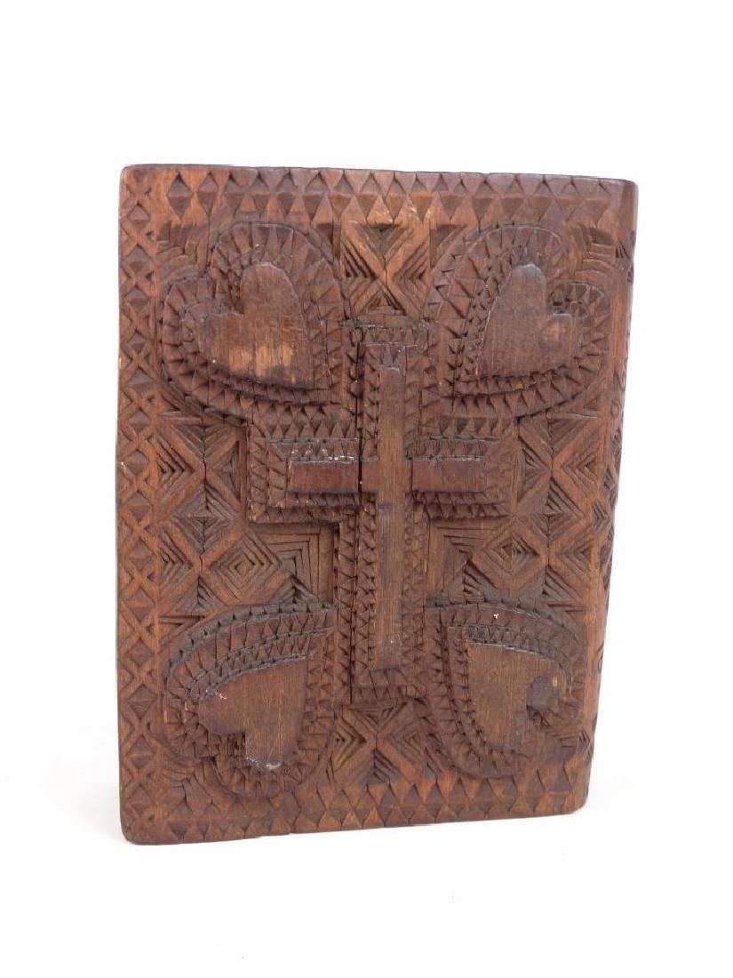 Tramp Art Book Box - 4
