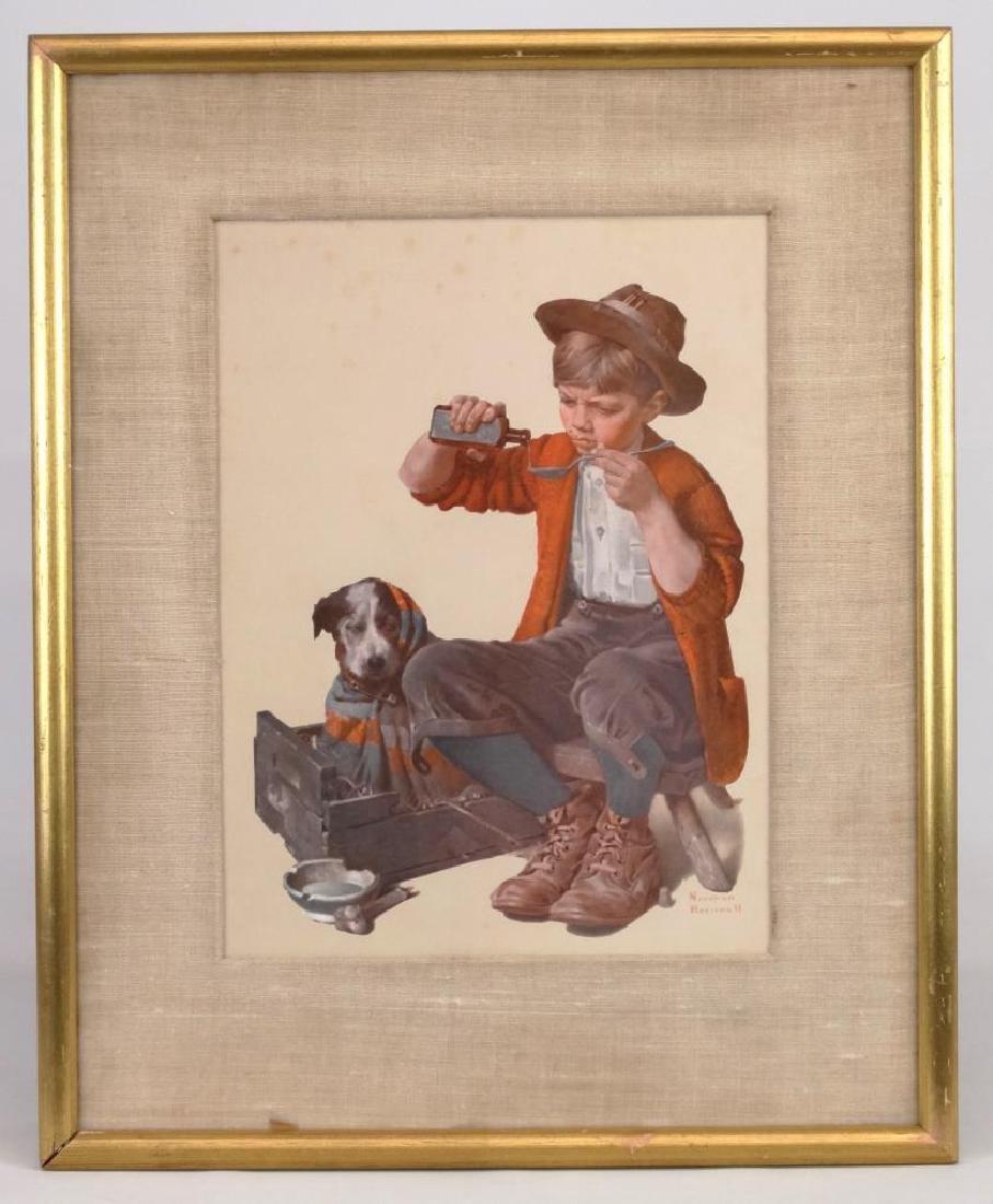 Norman Rockwell Print
