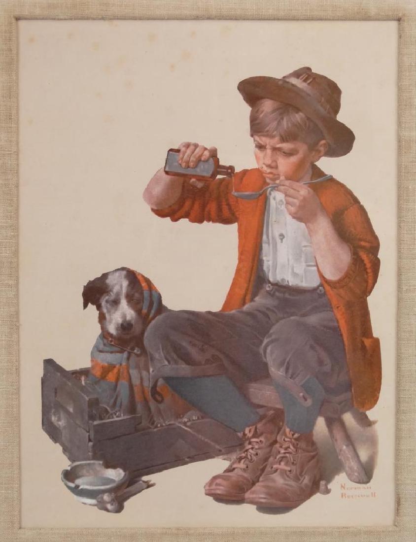 Norman Rockwell Print - 2