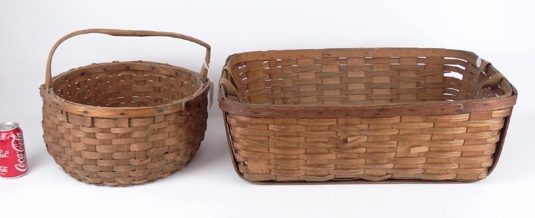 19th c. Basket Lot