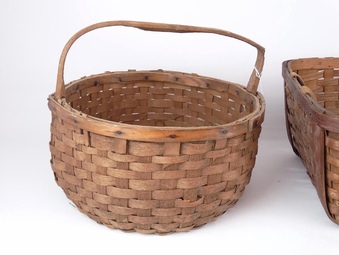 19th c. Basket Lot - 2