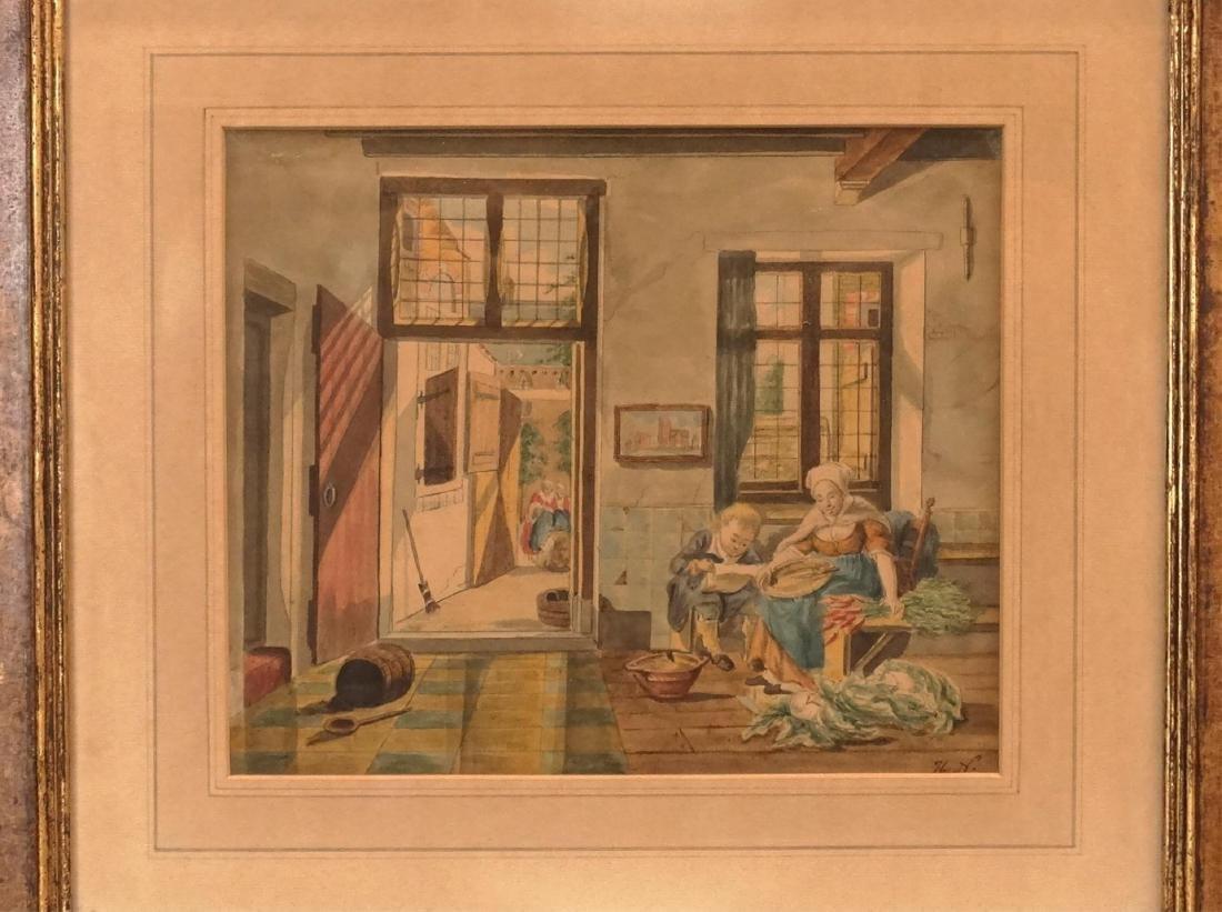 Continental School, Series Of Watercolors - 5
