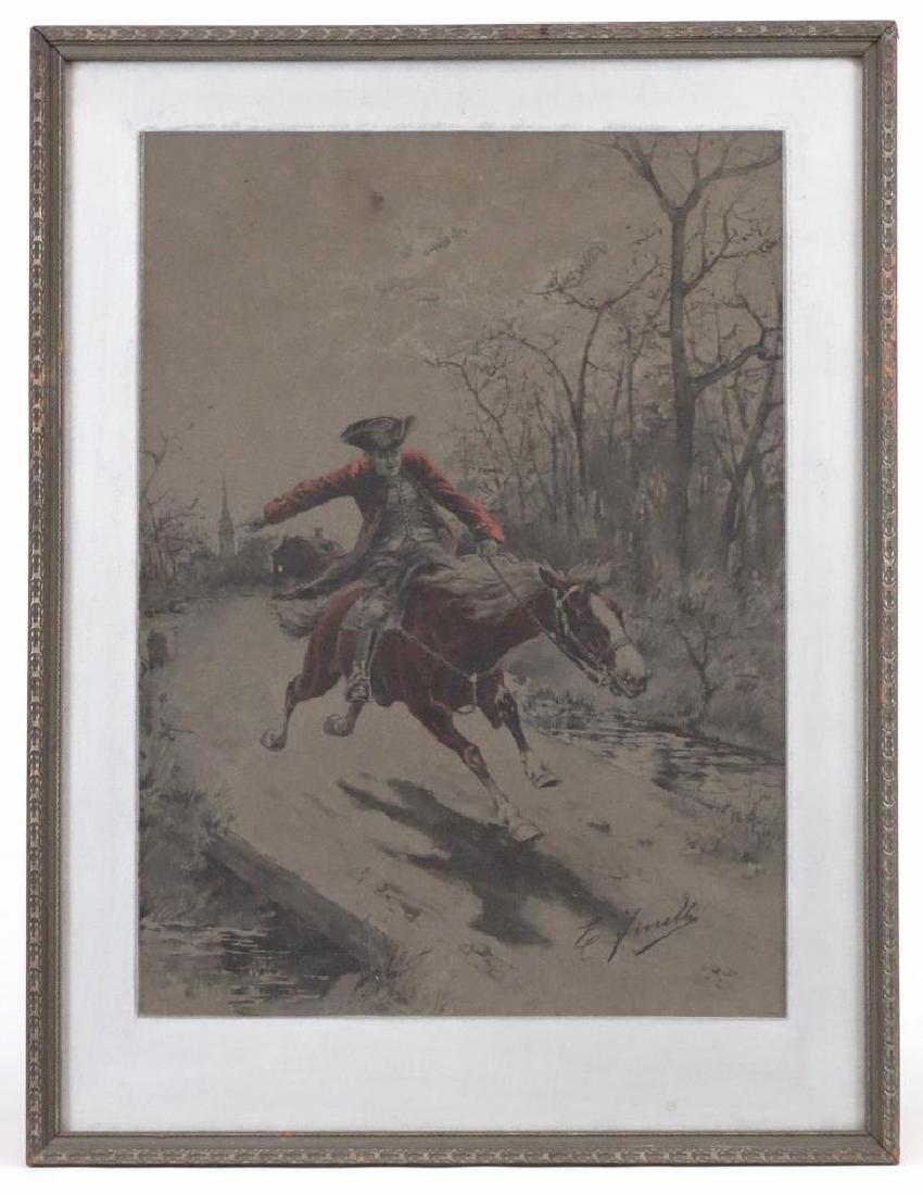 E. Finelli, Soldier On Horseback