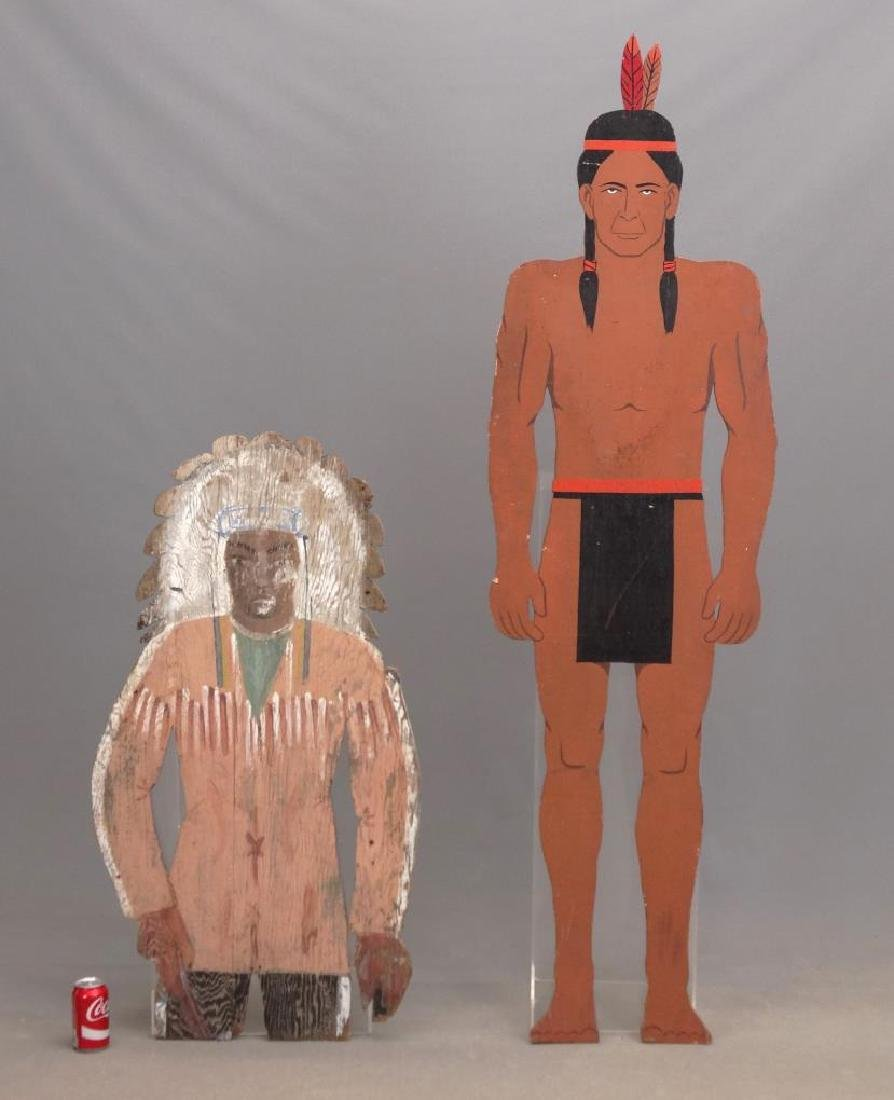 American Indian Painted Figures