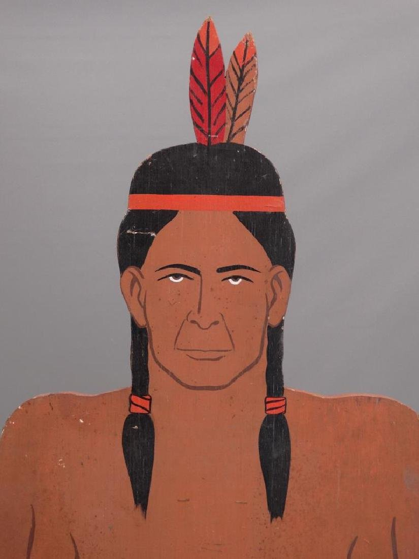 American Indian Painted Figures - 2