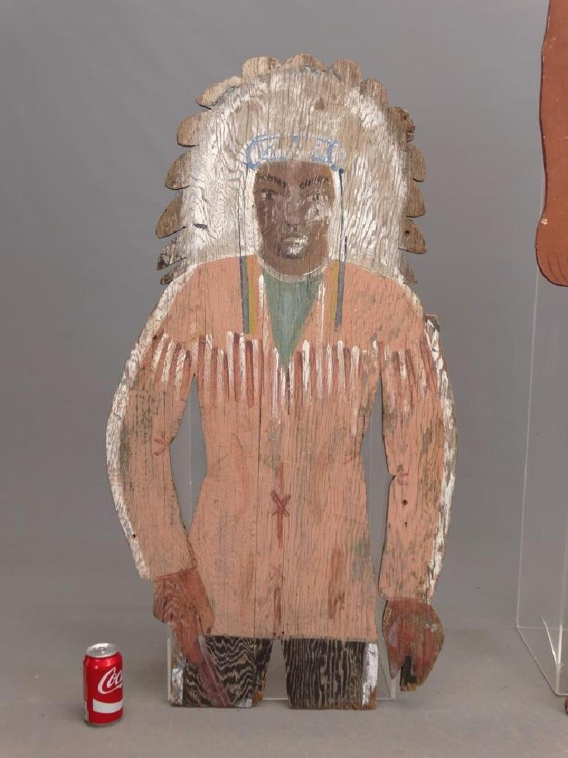 American Indian Painted Figures - 4