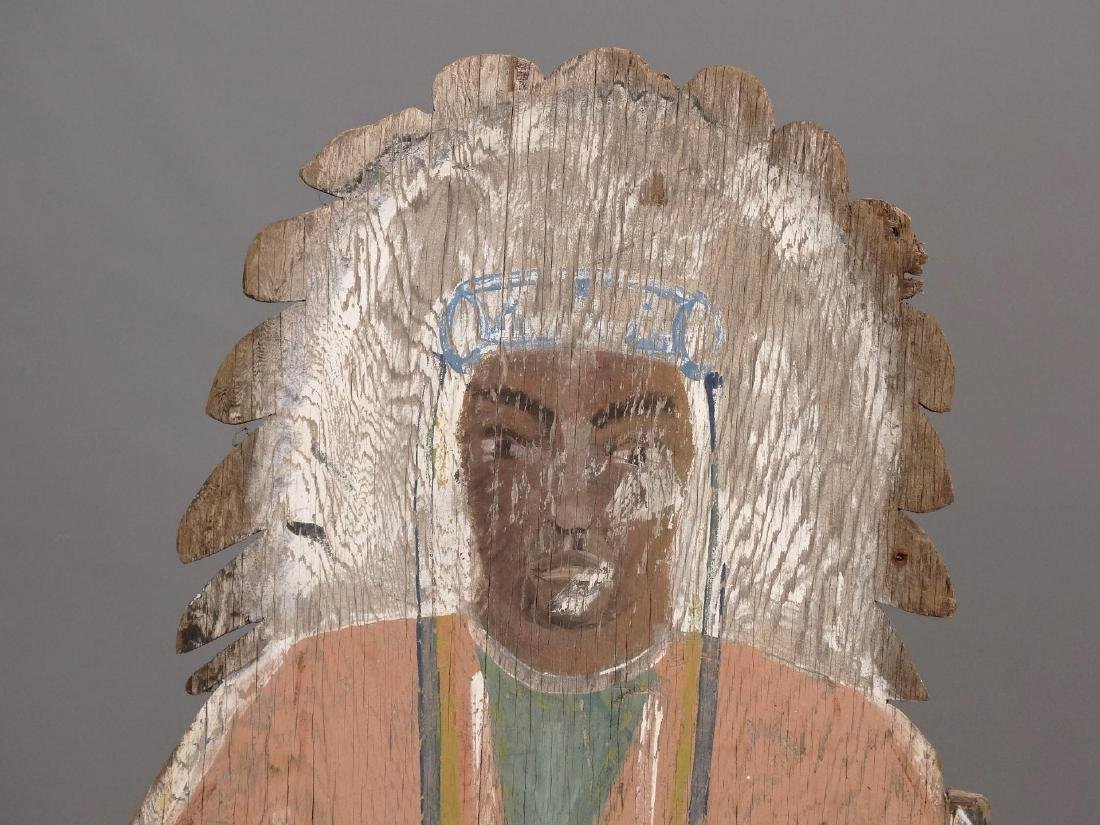 American Indian Painted Figures - 5