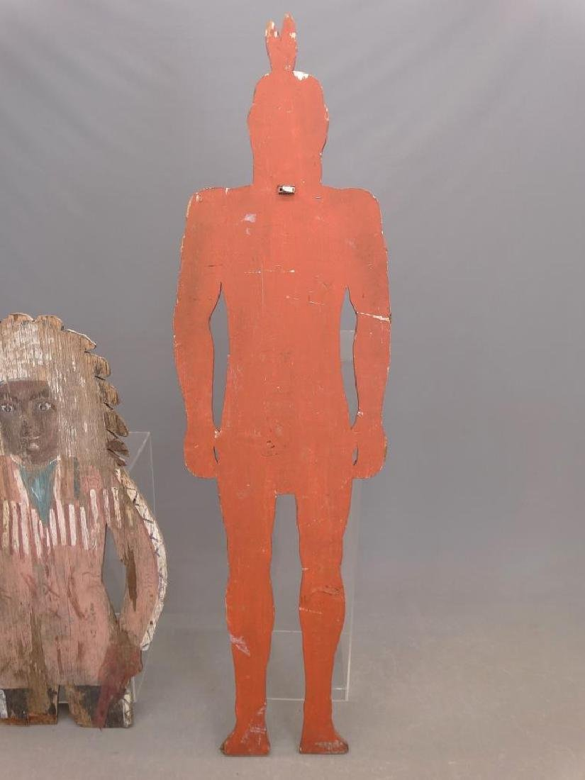 American Indian Painted Figures - 6