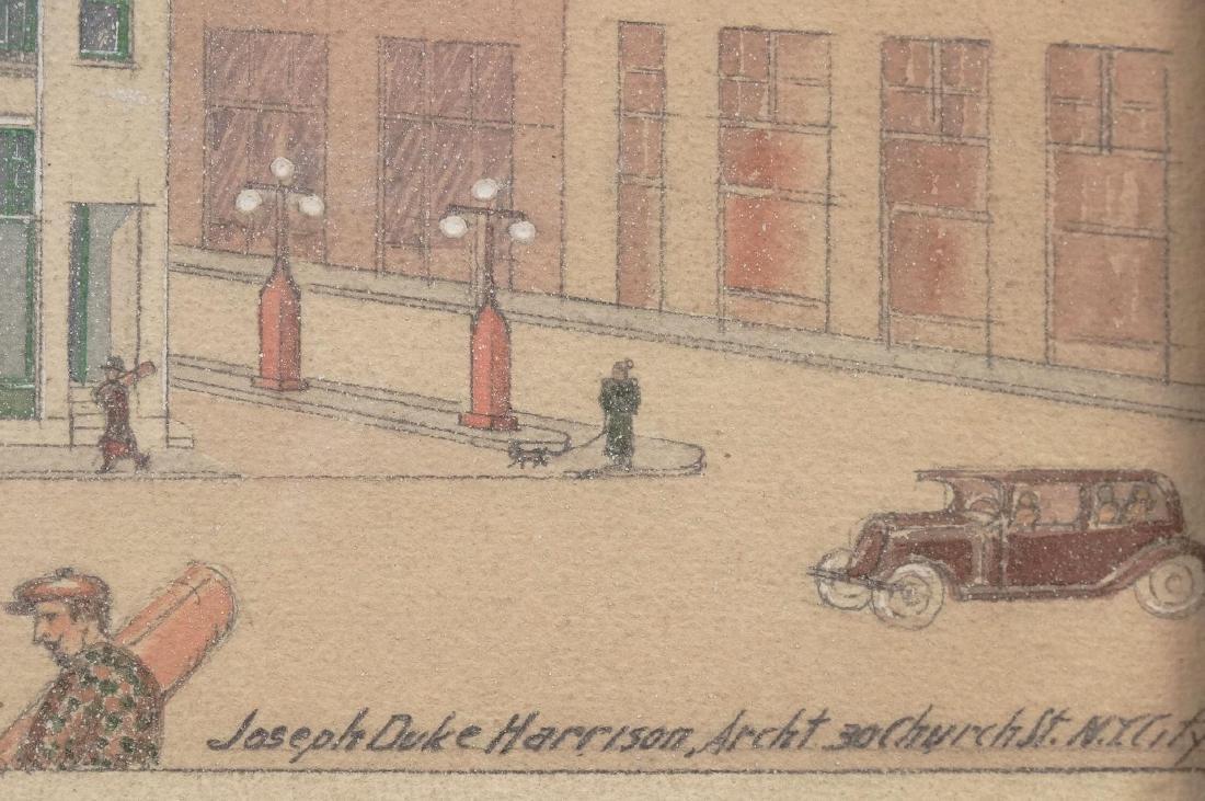 Joseph Duke Harrison, Architectural Drawing - 2