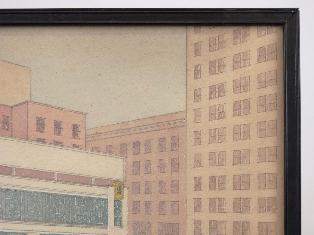 Joseph Duke Harrison, Architectural Drawing - 4