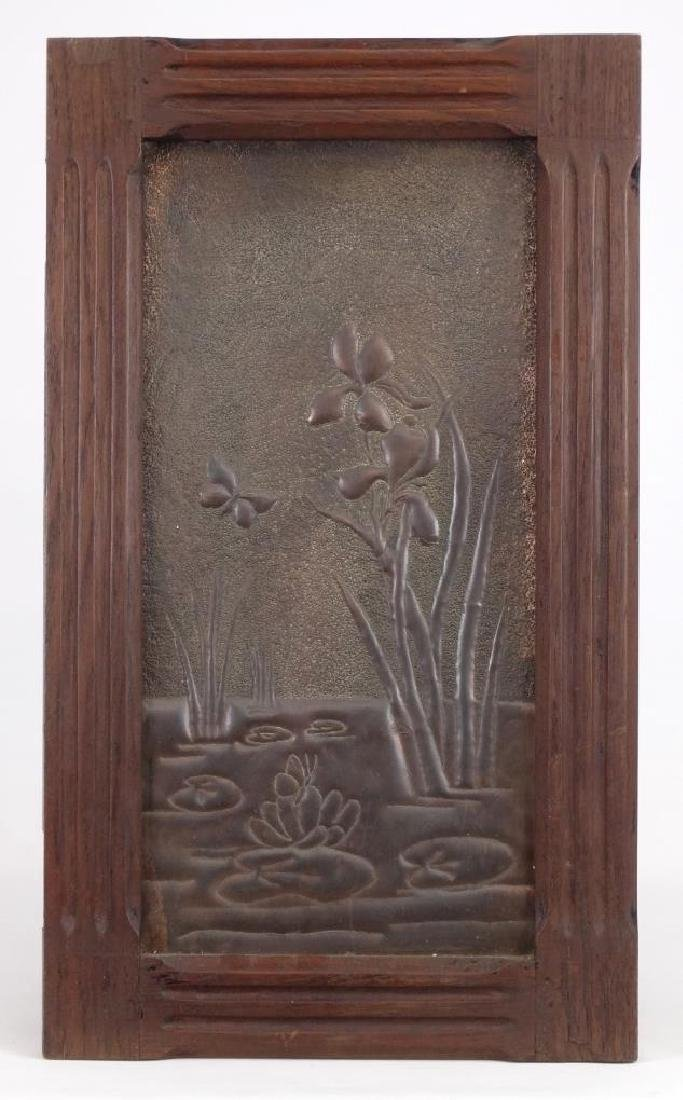 Framed Arts & Crafts Period Panel
